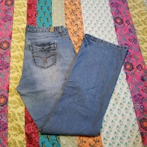 """Maurices """"Ivy Boot"""" Denim Jeans Size 16  Long"""